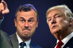 Norbert Hofer a Donald Trump