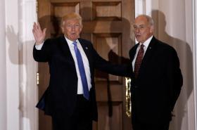 Donald Trump a John Kelly