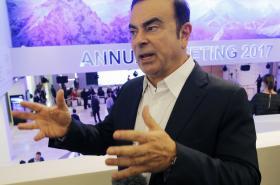 šéf francouzko-japonské automobilové aliance Renault-Nisssan Carlos Ghosn