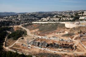 Židovská výstavba za Západním břehu