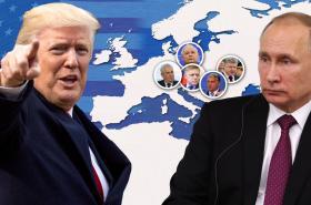 Donald Trump, Vladimir Putin a východní Evropa
