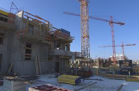 Výstavba bytů pokračuje i v zimě