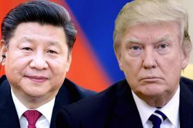 Si Ťin-pching a Donald Trump