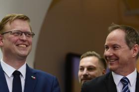 Pavel Bělobrádek a Petr Gazdík