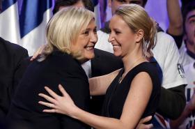 Marine Le Penová s neteří Marion