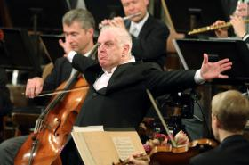 Daniel Barenboim a Vídeňští filharmonici