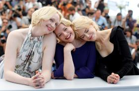 Herečky Gwendoline Christie, Elisabeth Moss a Nicole Kidman