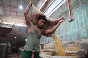 Továrna v Bangladéši