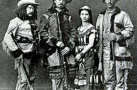 Z knihy Když u nás byl Buffalo Bill