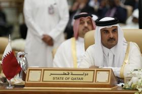 Katarský emír Tamim bin Hamad