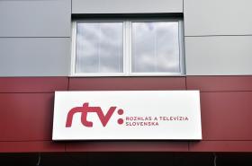 Logo slovenské veřejnoprávní instituce