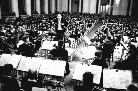 Provedení Šostakovičovy Sedmé symfonie v obleženém Leningradu