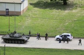 Vzpoura vojáků ve Venezuele