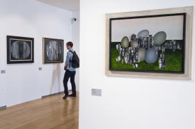 Výstava Jaroslav Paur v Museu Kampa