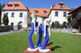 Díla Olbrama Zoubka v Regionálním muzeu v Jílové u Prahy