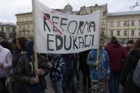 Protest proti reformě školství