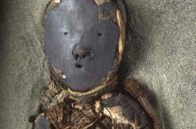 Mumie z pouště Atacama v Chile