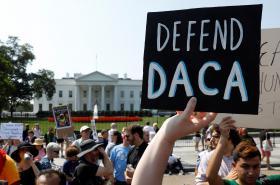 Protesty proti zrušení DACA