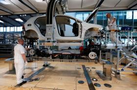 Výroba Volkswagen e-Golfu