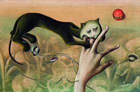 Stanislav Podhrázský / Imaginace strachu - kočka, 1949