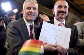 Sňatky homosexuálů v Německu
