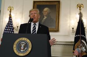 Amrický prezident Donald Trump