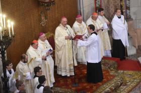 Svěcení nových biskupů v Olomouci