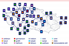 Ložiska potenciálních zdrojů kritických nerostných surovin EU