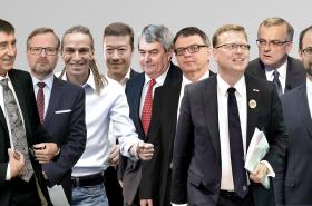 Lídři parlamentních stran