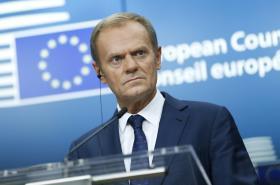 Šéf Evropské rady Donald Tusk