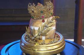 Lebka svaté Ludmily