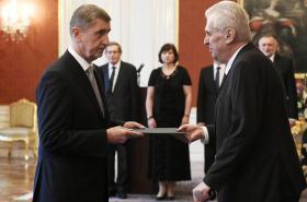 Jmenování Andreje Babiše premiérem