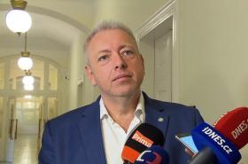 Exministr vnitra Milan Chovanec (ČSSD)