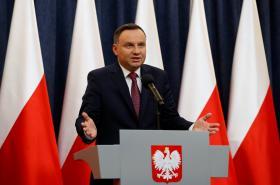 Polský prezident Andrzej Duda reaguje na kritiku Evropské komise