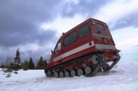 Obojživelné pásové vozidlo GAZ-3409 Bobr