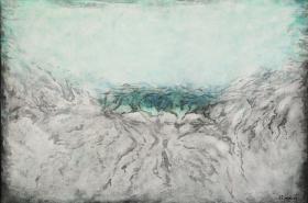 Josef Šíma /  Blankytné tělo ve tvaru oblohy II (1959)
