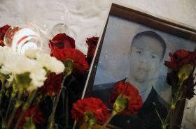Ruský pilot Roman Filipov, který zahynul v Sýrii