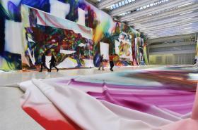 Instalace Zázračný obraz od Kathariny Grosseové