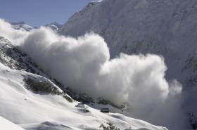 Lavina ve Švýcarsku