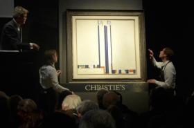 Aukce Kupkova obrazu Série C III. Élévations
