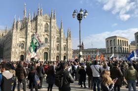 Vyostřená předvolební kampaň v Itálii