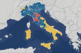 Výsledky voleb v Itálii