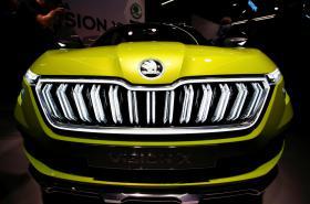 Škoda Vision X na ženevském autosalonu