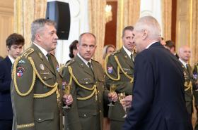 Aleše Opatu jmenoval prezident Miloš Zeman 28. října 2017 do hodnosti generálporučíka