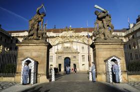 Brána Gigantů na Pražském hradě