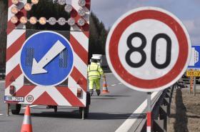 Omezení na dálnici D1