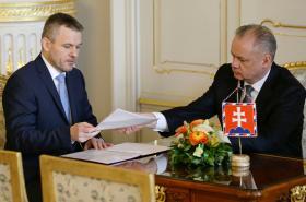 Peter Pellegrini a Andrej Kiska