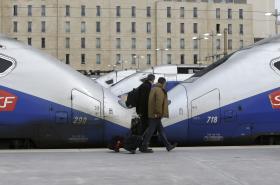 Stávka na železnici ve Francii