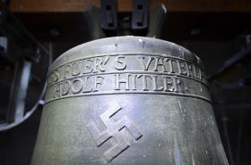 Zvon v obci Herxheim