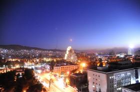Střela nad Damaškem